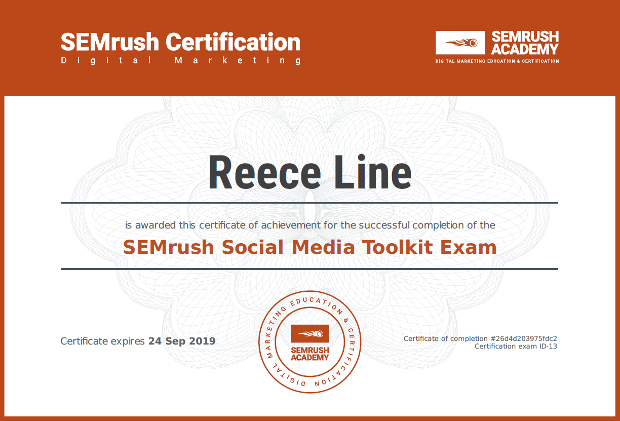 Social Media Toolkit Exam