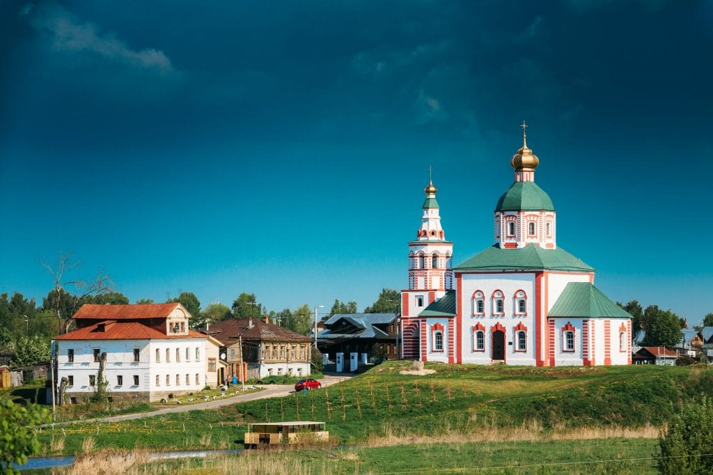 Church Of Elijah Prophet - Elias Church - Church In Suzdal, Russ